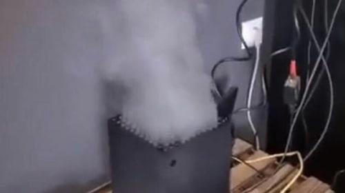 "Xbox Series X ""smoking"" is fake"