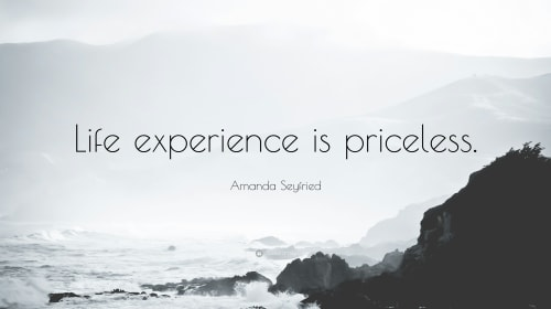 Does experience really prove you right?