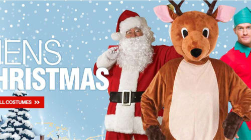 The modern concept of Santa Claus cosplay costumes