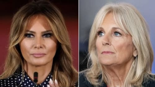Melania Trump breaks First Lady tradition and snubs Jill Biden