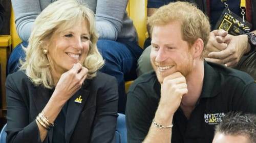 Why Are People Questioning Prince Harry and Dr. Jill Biden's Friendship?