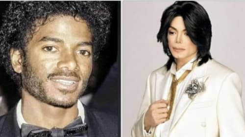 Michael Jackson and his transformation from black to white