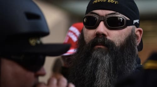 The Proud Boys and Neo Nazi's lead the charges of voter fraud