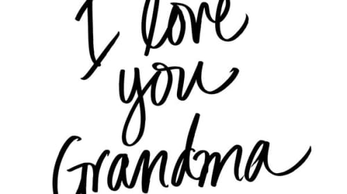 For You Grandma