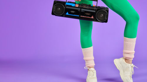 Totally Radical '80s Workout Montage