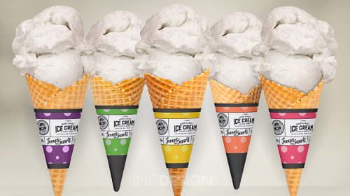 Custom Ice Cream Cone Sleeves For Your Business