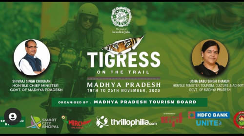 "Madhya Pradesh Tourism Launches ""Tigress on Trails"" in association with Thrillophilia"