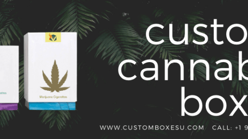 Custom cannabis boxes Wholesale for Packaging in USA
