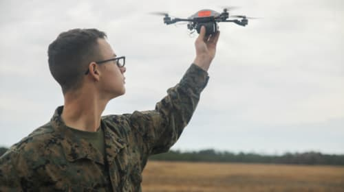 Marine Corps Stories: The Drone Plan