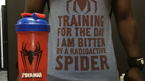 TRAINING FOR THE DAY I AM BITTEN BY A RADIOACTIVE SPIDER