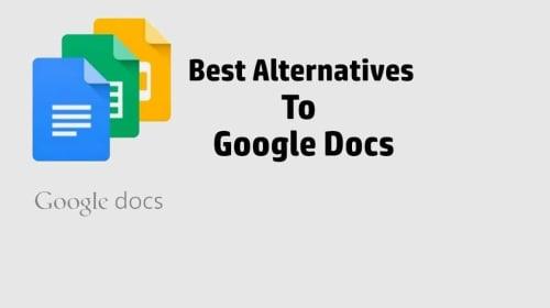 Best Google Docs Alternatives