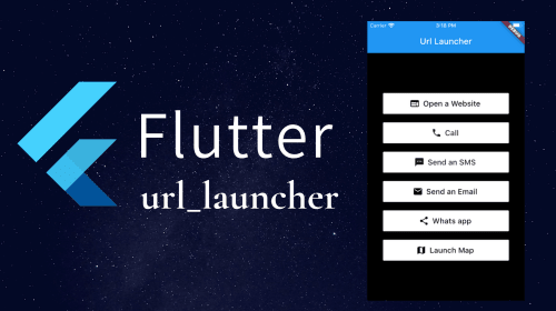 Flutter: How to launch apps using the url_launcher plugin?
