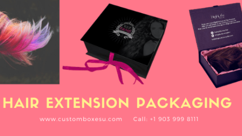 Hair packaging boxes Available in All Sizes & Shapes