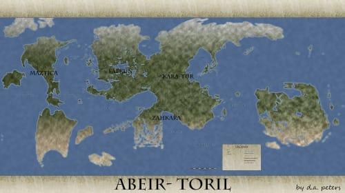 The Creation myth of Abeir-Toril