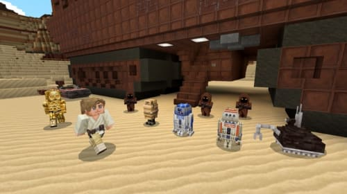 You Can Now Play As 'Star Wars' Characters In 'Minecraft'