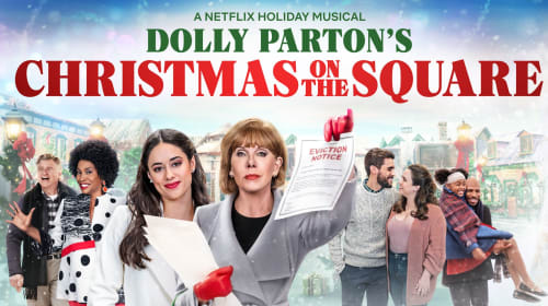 Dolly Parton's Christmas On The Square - review (Netflix)