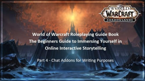 Warcraft Roleplaying Guide: Addons - Extra Chat Functions