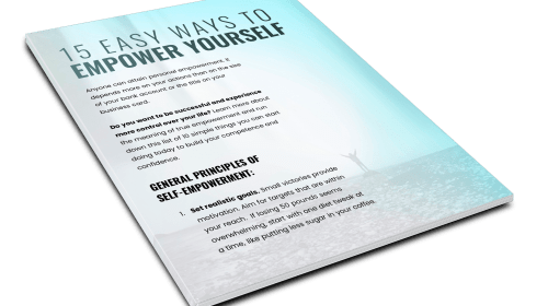 15 EASY WAYS TO EMPOWER YOURSELF