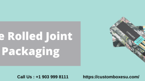 Make Your Own Pre rolled joint packaging With free Shipping in USA