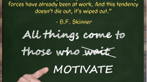 What Happened To That Motivation?