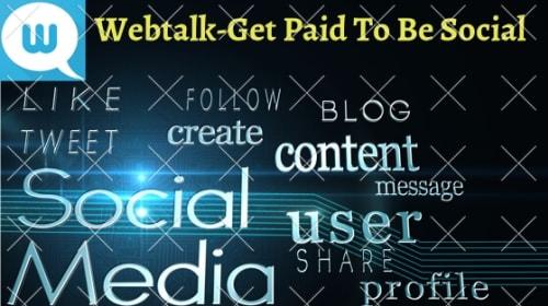 How To Earn From Webtalk | Webtalk AppReview