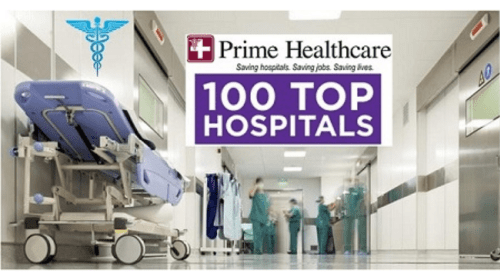 Prime Healthcare Hospitals Named Among 100 Top Hospitals in the Nation