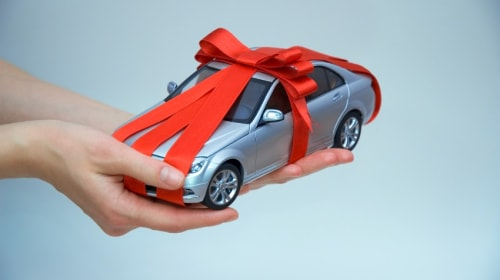 How To Gift A Car