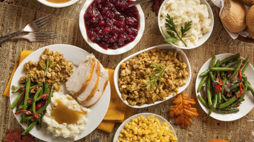 Thanksgiving Dinner Table Talk
