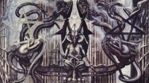 H.R. Giger's 'Necronomicon'