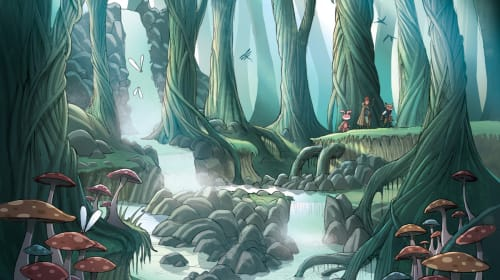 Best Fantasy Graphic Novels for Kids