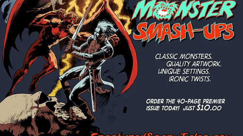 Scary Tales Publishing's 'Monster Mash-Ups' Is Pure Creature Feature Nostalgia