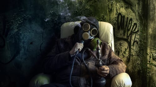 Gas Mask Bongs for Cannabis Connoisseurs
