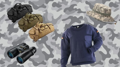 10 Awesome Outdoor Army Surplus Items You Can Find Anywhere