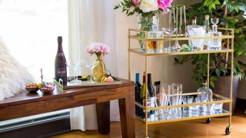 28 Gorgeous Bar Carts Under $250