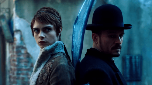 Orlando Bloom and Cara Delevingne Hunt Down a Killer in an Intolerant Steampunk Fantasy World in Amazon's 'Carnival Row'