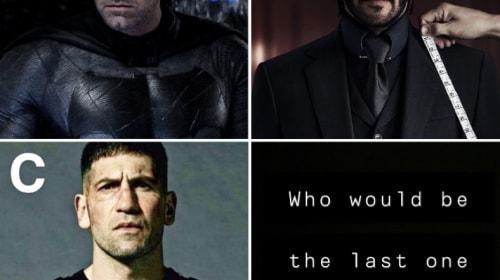 Who Would Win? John Wick, The Punisher, or Batman?