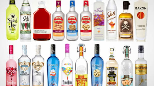 The Grossest Vodka Infusions of All Time