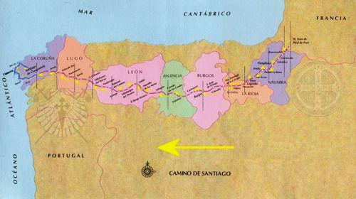Camino de Santiago, Day -7