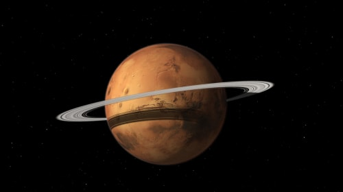 Mars May Have Once Had Rings, and Could Have Them Again in the Future