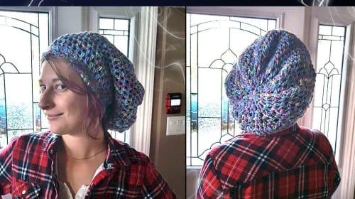DIY Crochet Tip, Plus a Rasta Style Hat Pattern