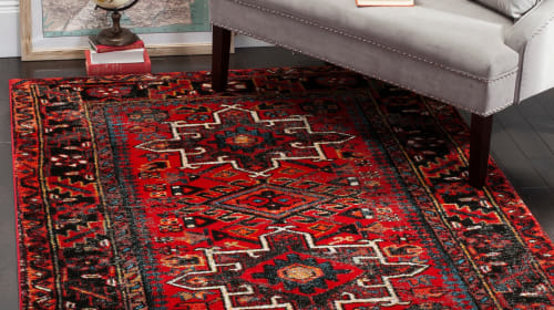 How to Make a Vintage Rug the Centerpiece of Your Decor