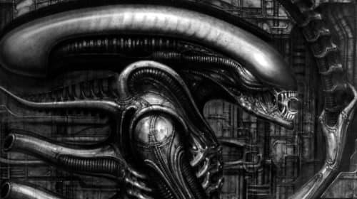 H.R. Giger's 'Alien' Art
