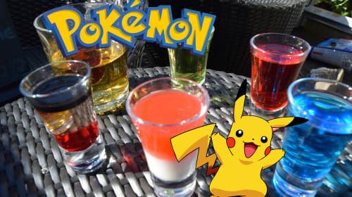 Pokémon-Inspired Cocktails