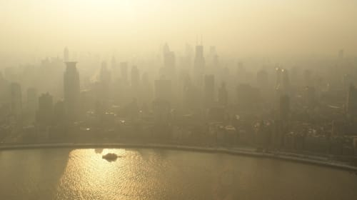 What Air Pollutants Do to a City