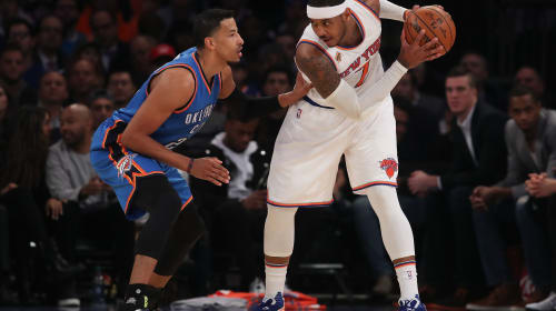 Hoodie Melo Gets His Wish and Moves to OKC