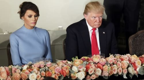 President Trump And First Lady Sleep In Separate Beds?