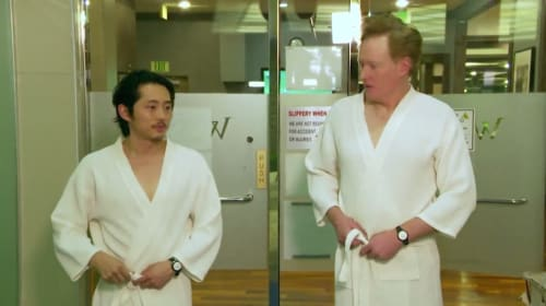 Steven Yeun Isn't Taking The Death Of (SPOILER) Too Hard After All