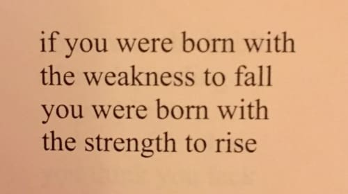 The Strength in Me