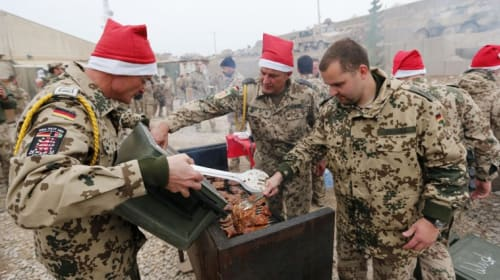 10 Amazing Ways Troops Celebrate the Holidays in Afghanistan