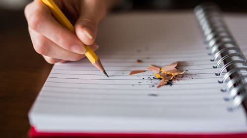 The day I learned about the power of writing